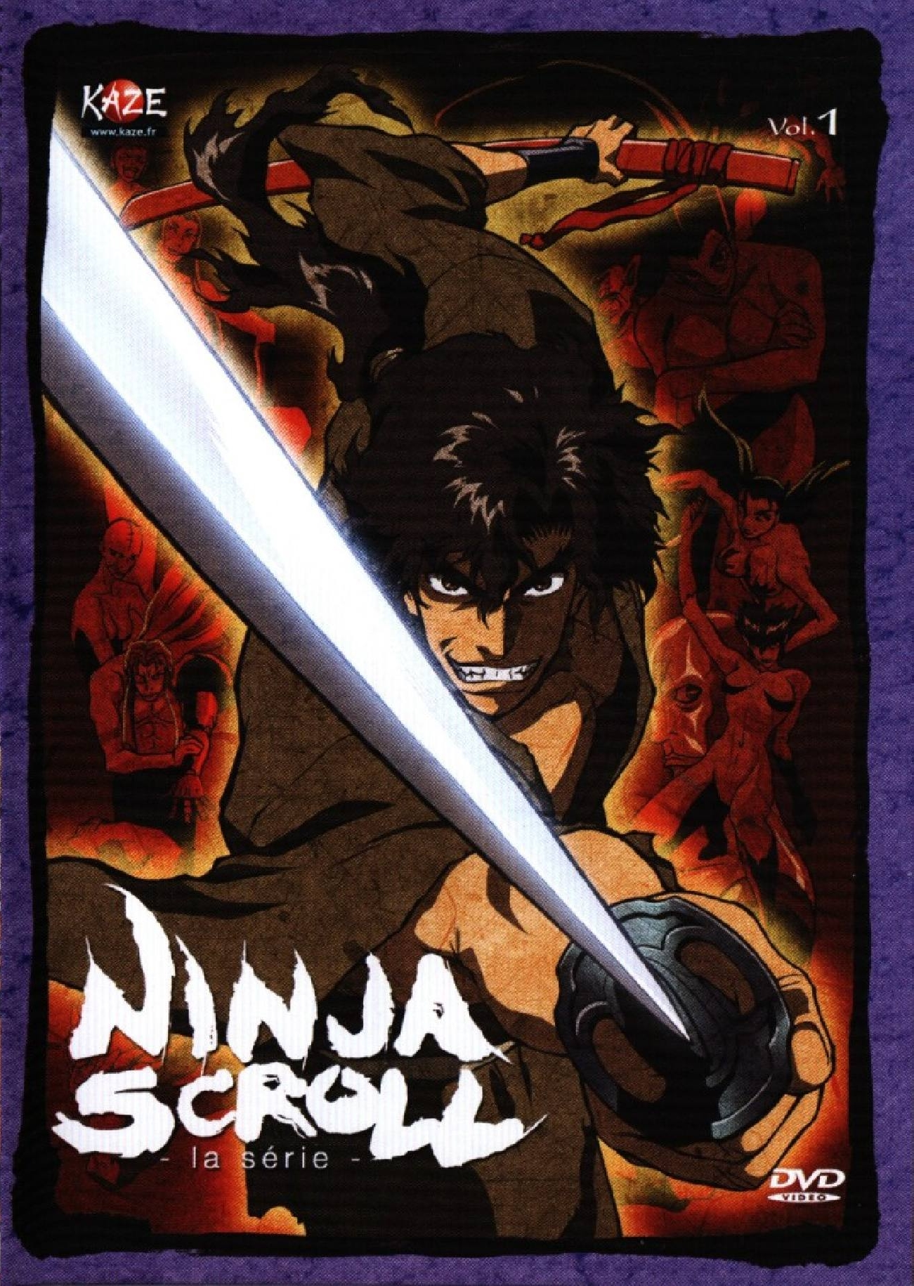 Ninja Scroll The Series Review The Anime Accord
